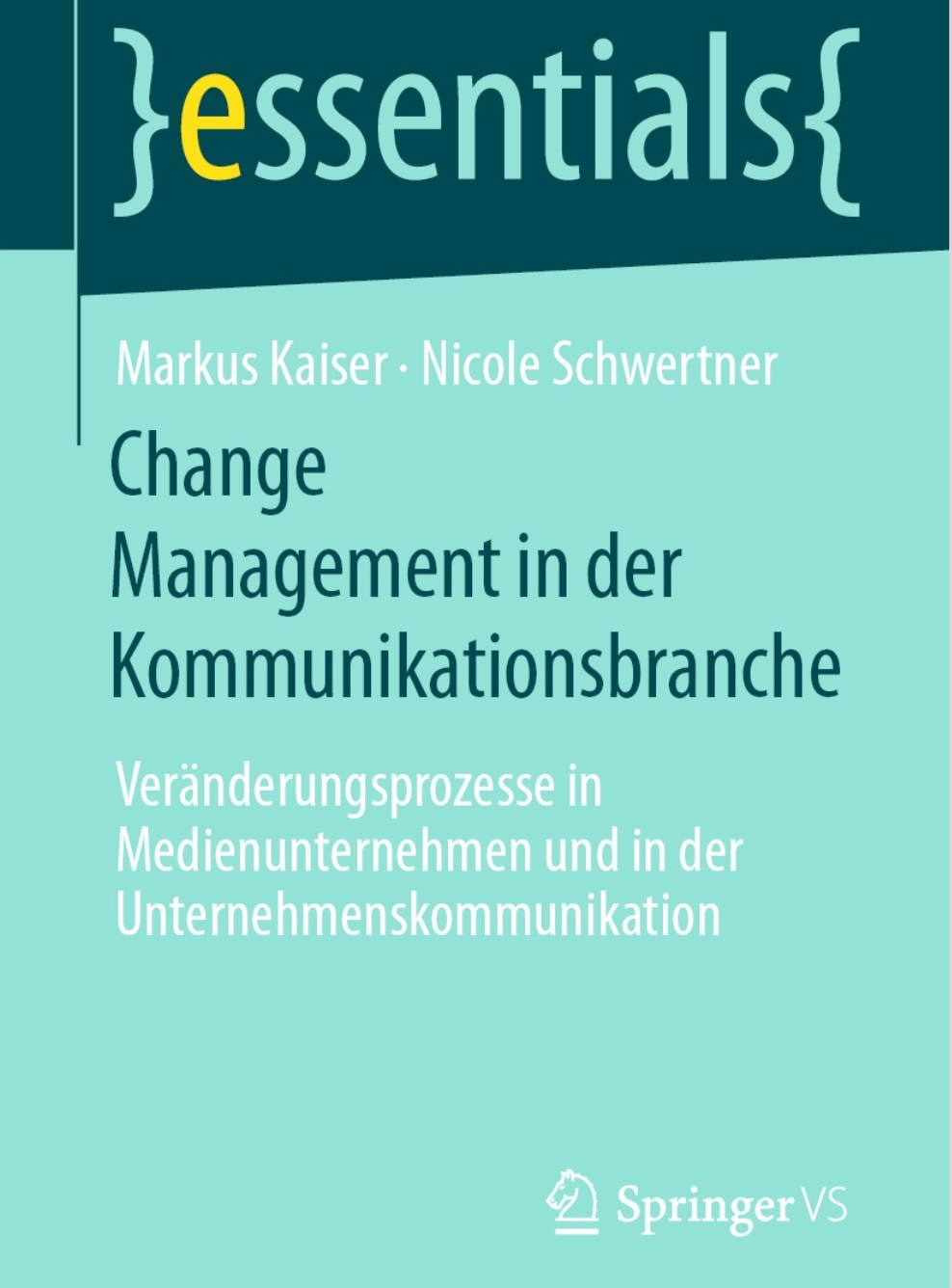 Cover Change Management in der Kommunikationsbranche